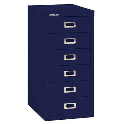 Bisley Laatikosto 6L, Oxford Blue