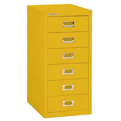 Bisley Laatikosto 6L, Zink Yellow