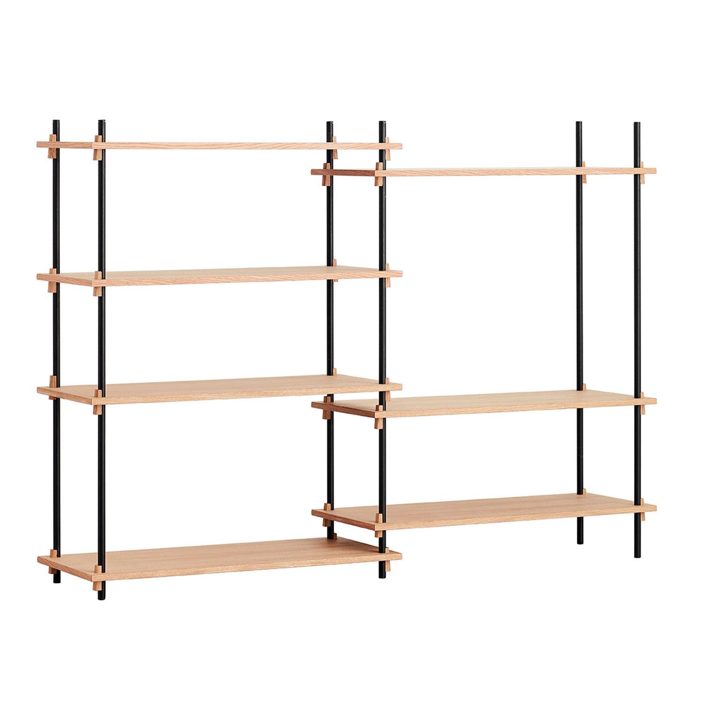 MOEBE Shelving System Shelf Medium Double, Ek