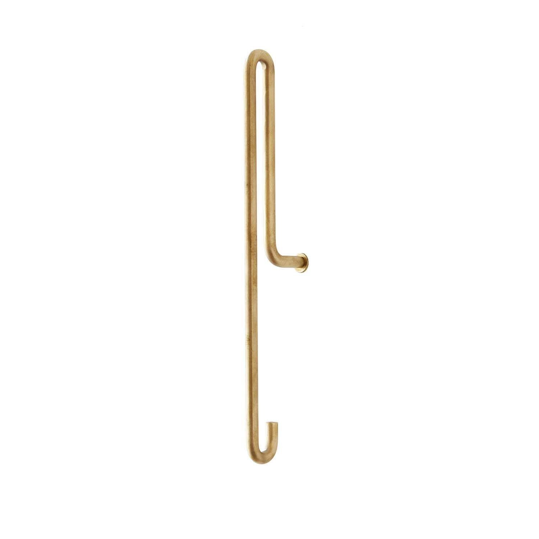MOEBE Wall Hook L, Brass