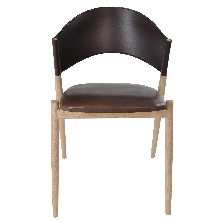 OX Denmarq A Tuoli, Mocca/Tammi