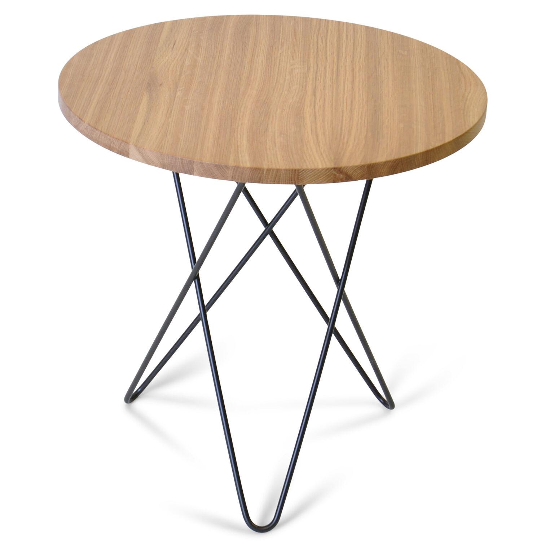 OX Denmarq Tall Mini O Sivupöytä, Tammi