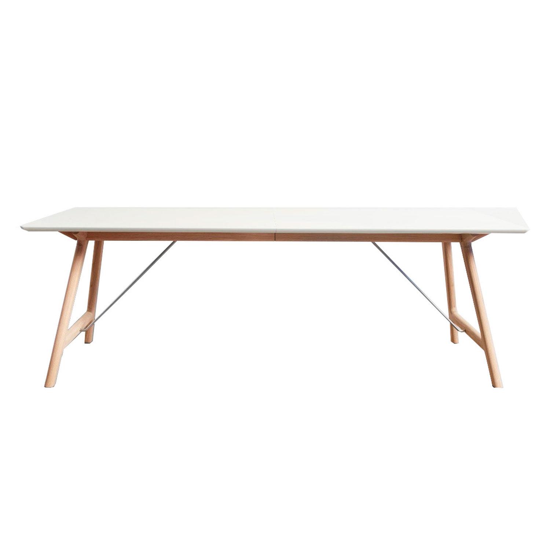 Andersen T7 Pöytä 95x170cm, Tammi/Valkoinen Laminaatti