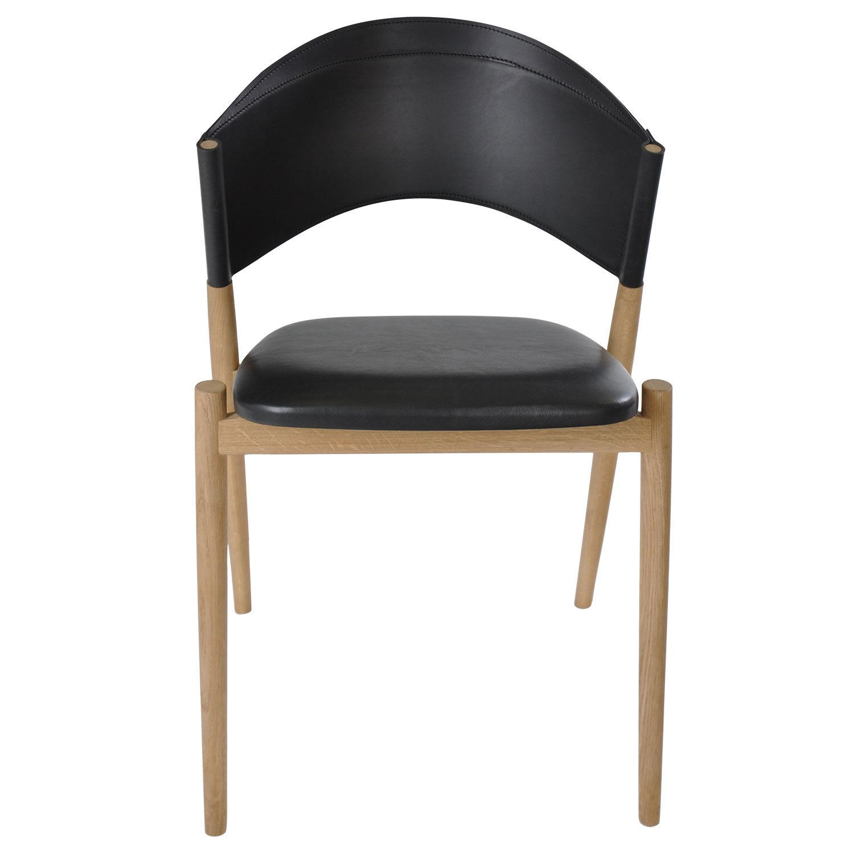 OX Denmarq A Tuoli, Musta/Tammi