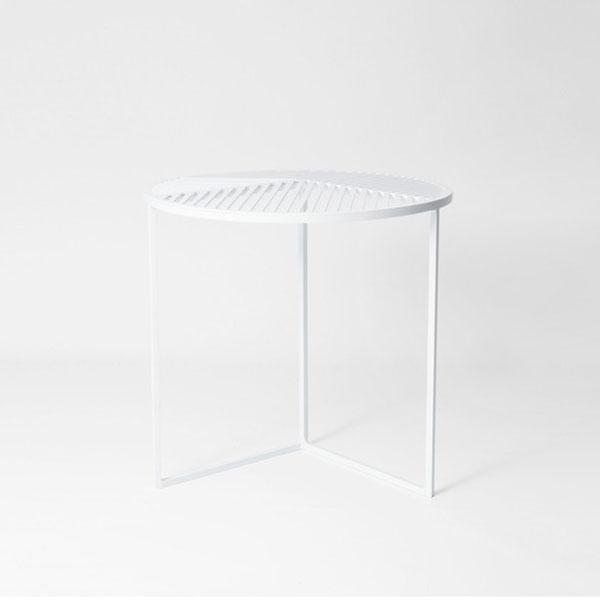 Petite Friture Iso-A Sivupöytä, Valkoinen