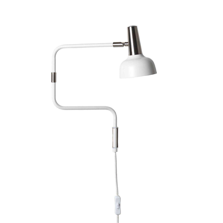 Co Bankeryd Ray Seinävalaisin LED, Valkoinen/ Nikkeli