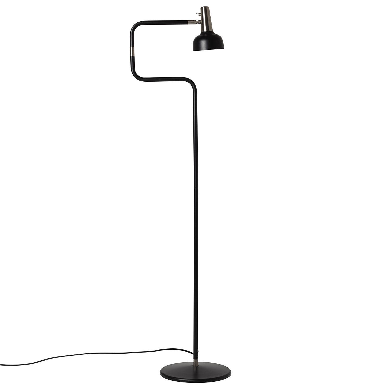 Co Bankeryd Ray Lattiavalaisin LED, Musta/ Nikkeli