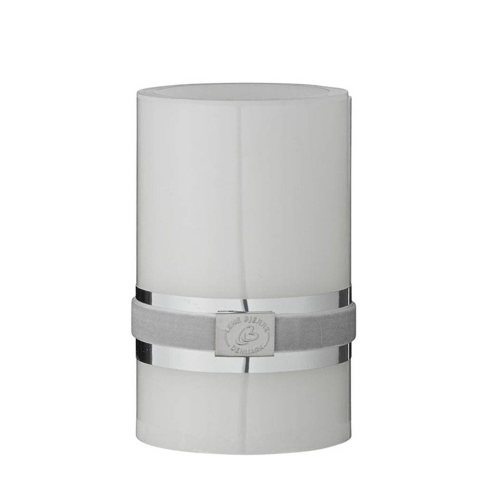 Lene Bjerre LED Kynttilä 12 cm, Valkoinen