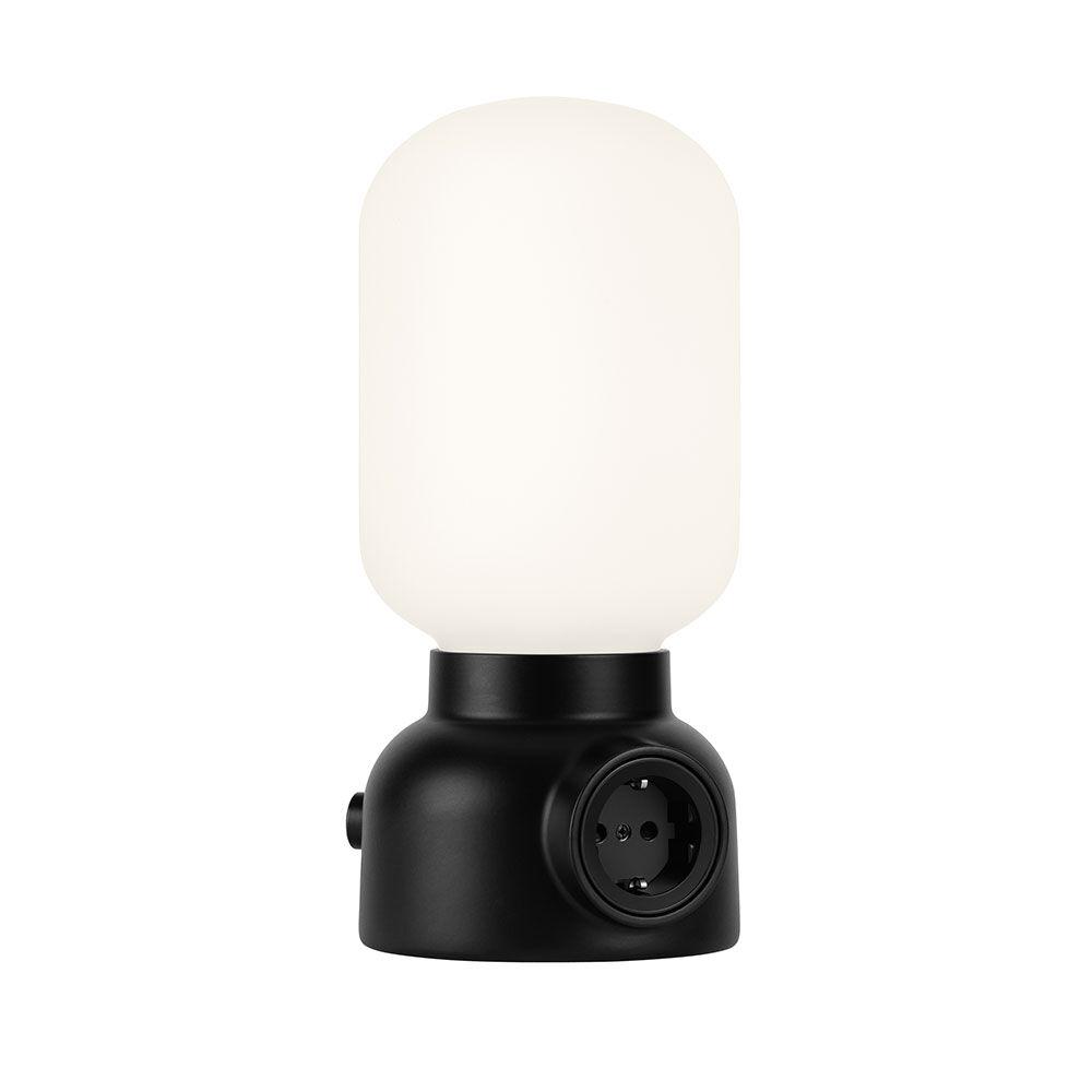 ateljé Lyktan Plug Lamp Pöytävalaisin, Musta