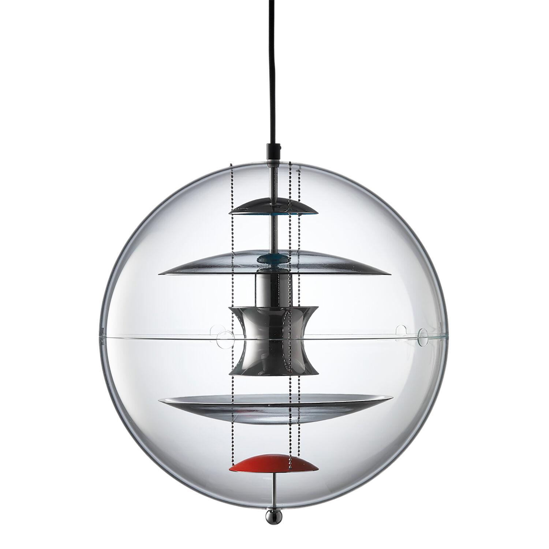 Verpan VP-Globe Riippuvalaisin, 40 cm, Värjätty Lasi