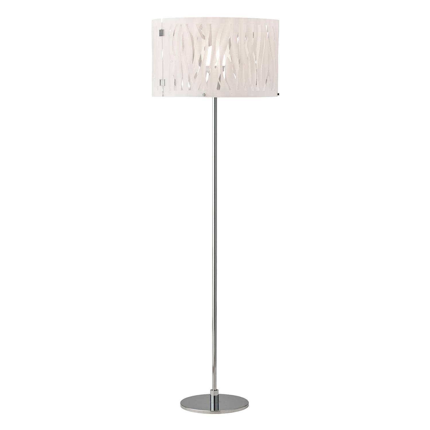 Herstal Grass Floor Lamp, Frosted White