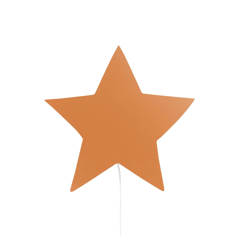 Ferm Living KIDS Star Wall Lamp, Mustard
