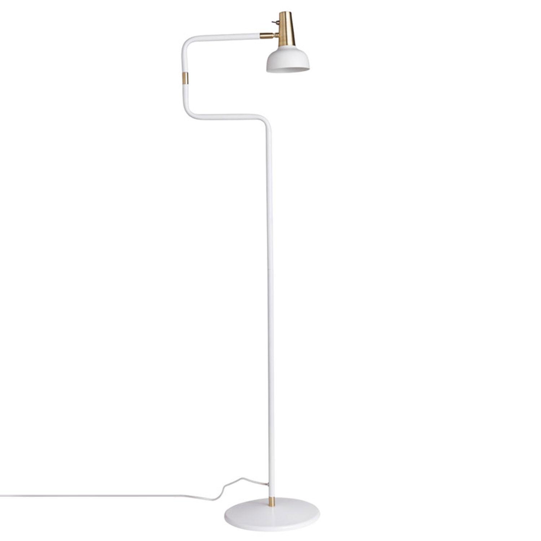 Co Bankeryd Ray-jalkalamppu, Valkoinen/Messinki