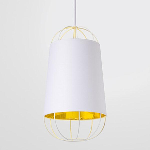 Petite Friture Lanterna 22 Kattovalaisin, Small, Valkoinen/Kulta