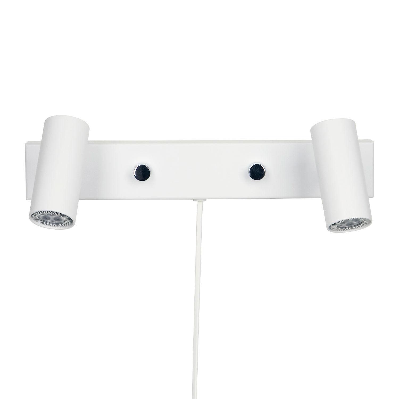 Belid Cato Seinävalaisin LED Tupla, Matta Valkoinen