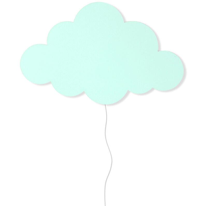 Ferm Living KIDS Cloud Seinävalaisin, Minttu