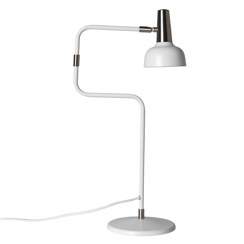 Co Bankeryd Ray Pöytävalaisin LED, Valkoinen/ Nikkeli
