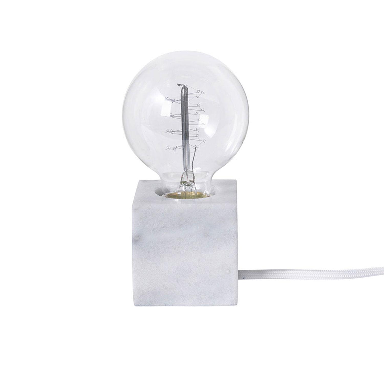 Co Bankeryd Tiny 6,5 -pöytälamppu, Valkoinen marmori