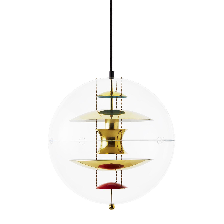 Verpan VP-Globe Riippuvalaisin, 40 cm, Messinki