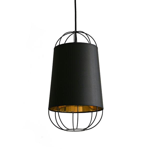 Petite Friture Lanterna 22 Kattovalaisin, Small, Musta/Kulta
