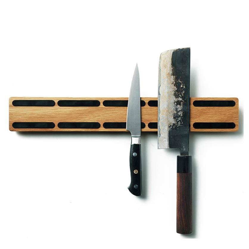 Scandinavian Design Factory Knife Catcher Classic Veitsilista L38cm, Tammi