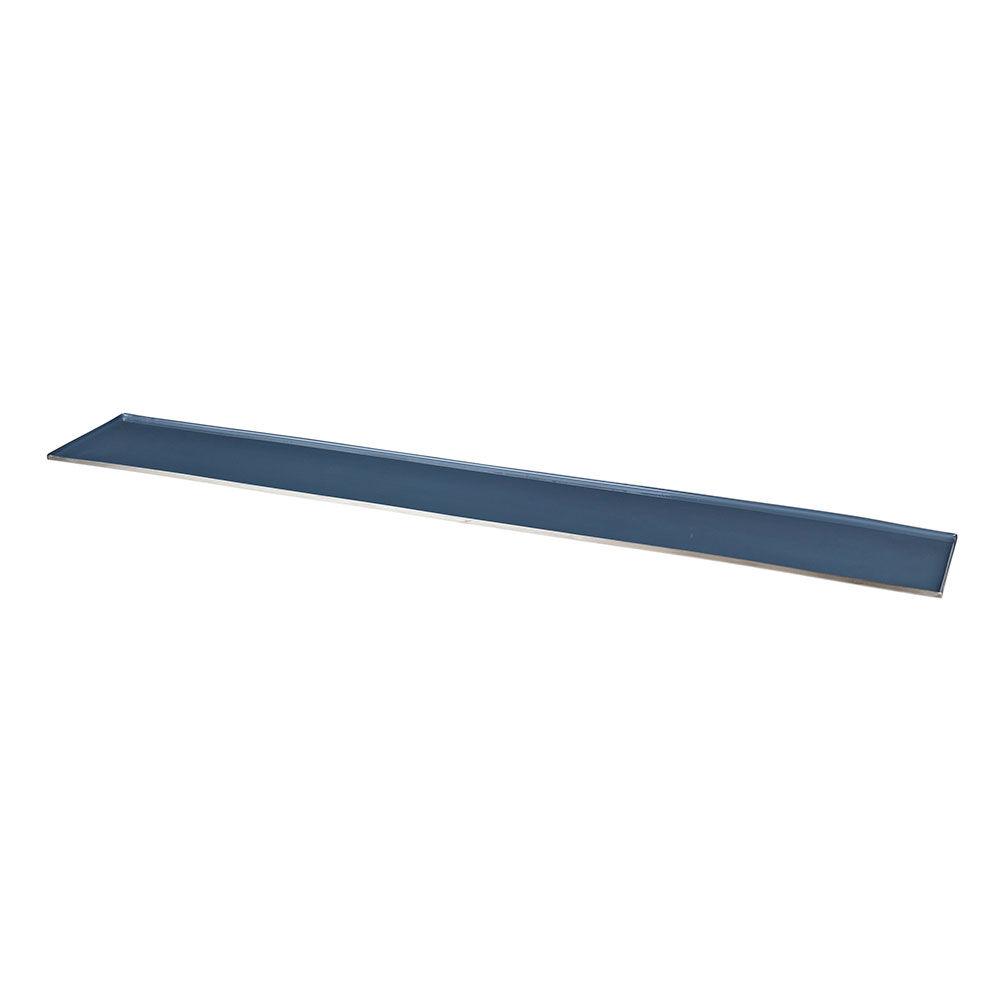 Broste Copenhagen Sara Kynttilätarjotin 12,5x76 cm, Flint Stone Blue