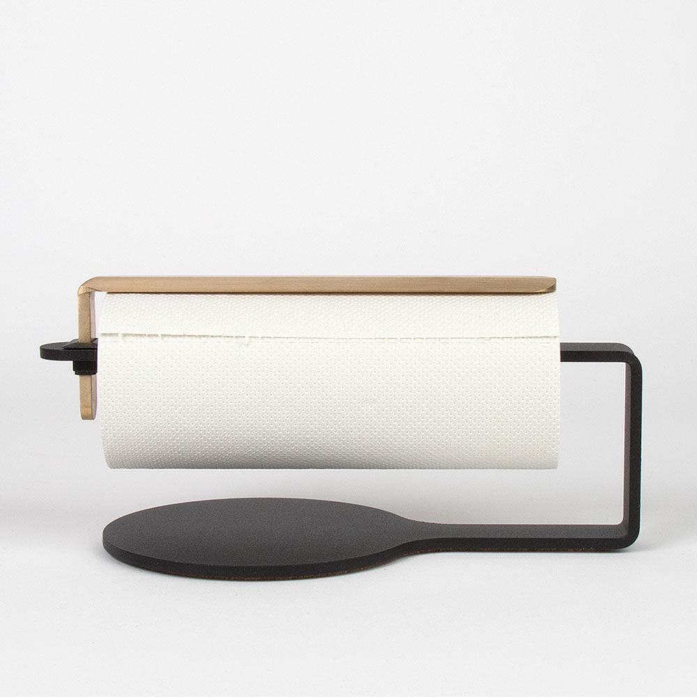 Scandinavian Design Factory Curve Talouspaperinpidike, Musta/Messinki