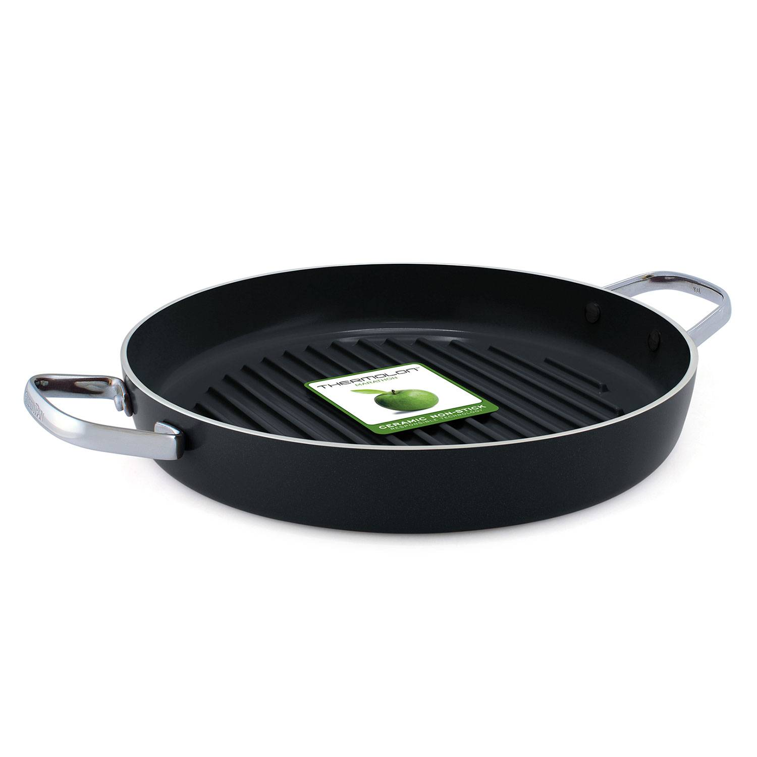 GreenPan Essentials Pyöreä Grillipannu 28cm