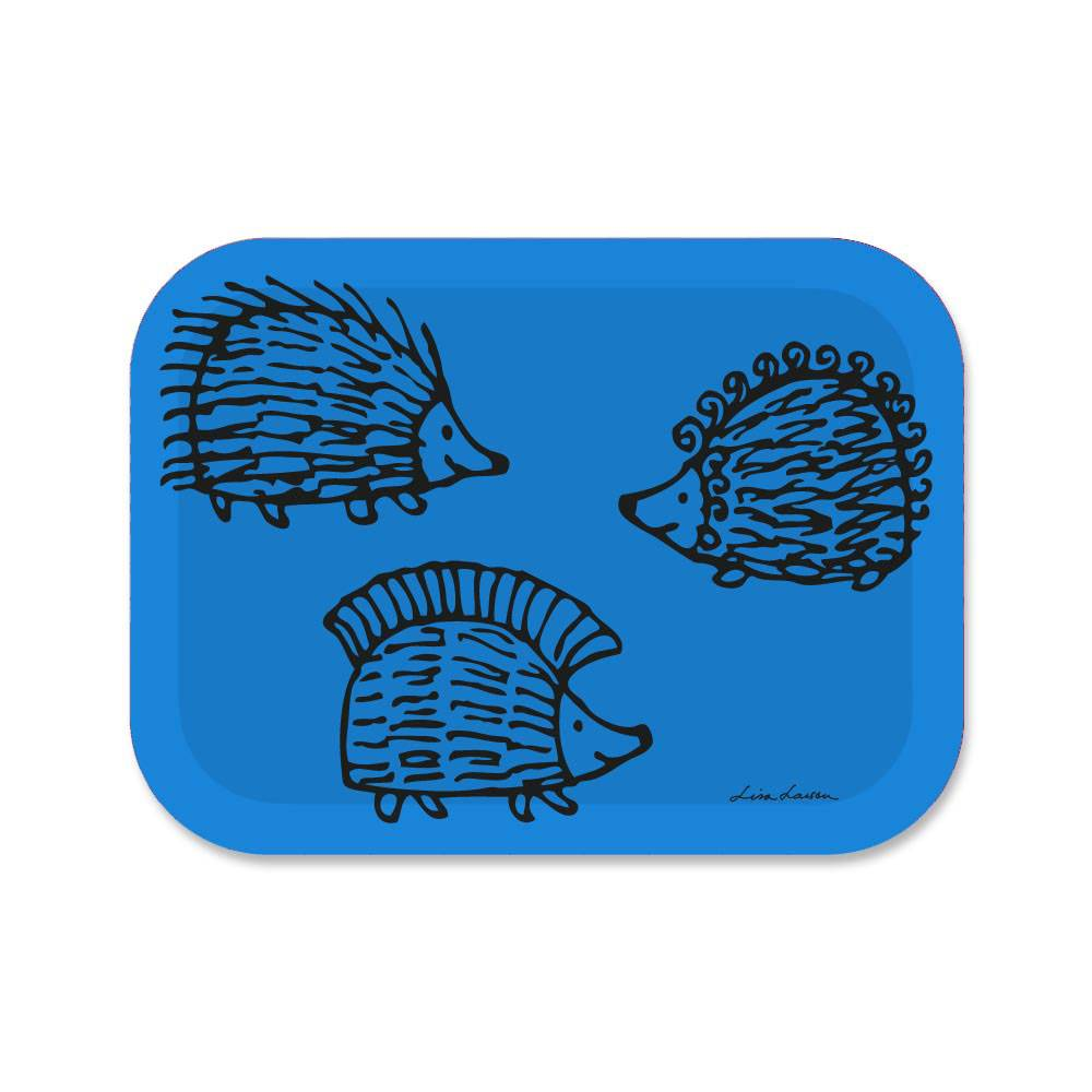 Opto Design Iggy Piggy Punky Tarjotin 27x20 cm, Sininen