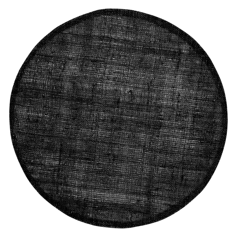 Dixie Linen Pöytätabletti Ø38cm, Musta