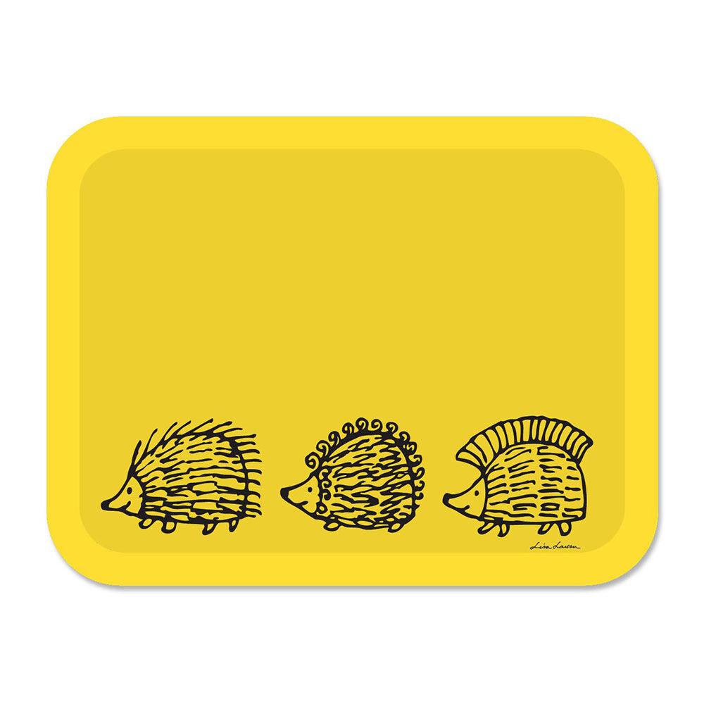 Opto Design Iggy Piggy Punky Tarjotin 43x33 cm, Keltainen