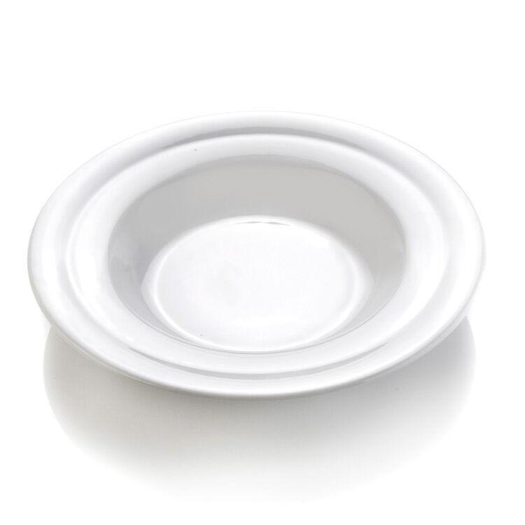 Erik Bagger eb - Syvä lautanen, valkoinen, 220 mm