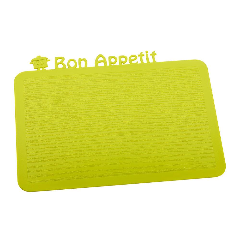 Koziol Happy Board Bon Appetit Tarjotin, Sinapinvihreä