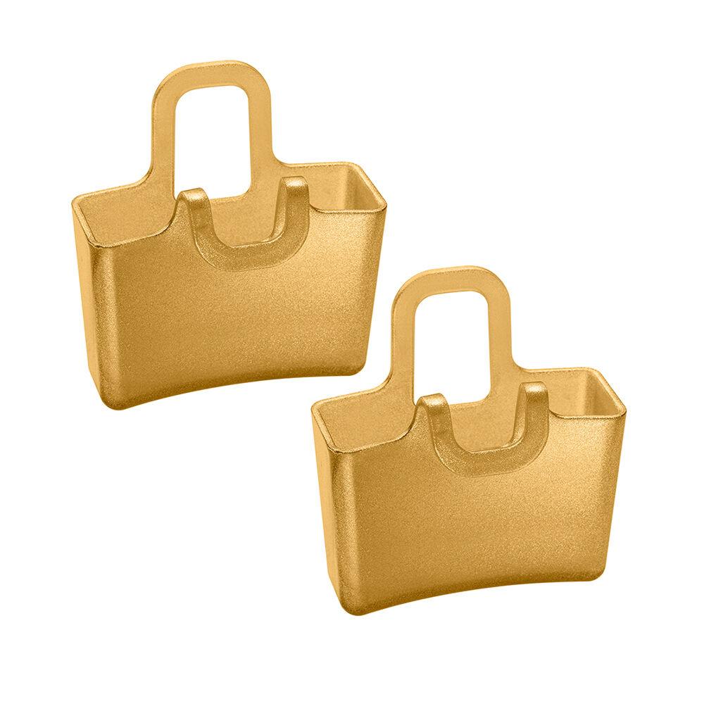 Koziol Carryall Minikuppi Lilli 2-Pakkaus, Golden Pearl