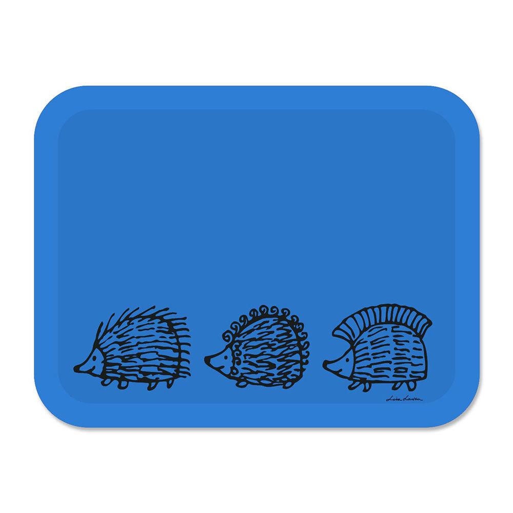Opto Design Iggy Piggy Punky Tarjotin 43x33 cm, Sininen