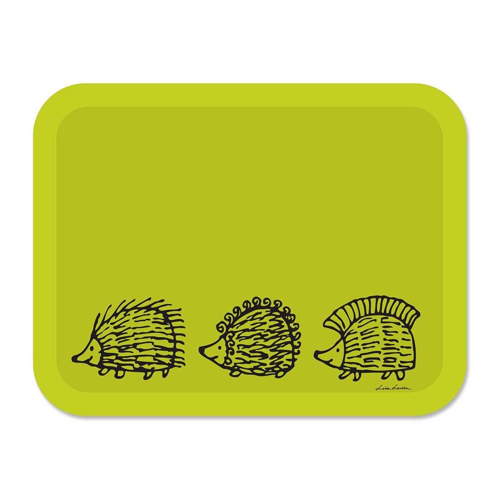 Opto Design Iggy Piggy Punky Tarjotin 43x33 cm, Vihreä
