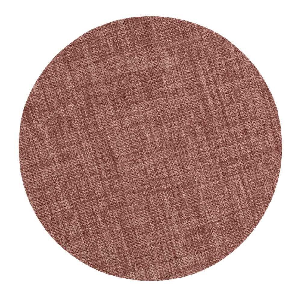 Dixie Sixten Placemat 38 cm, Rusty Pink