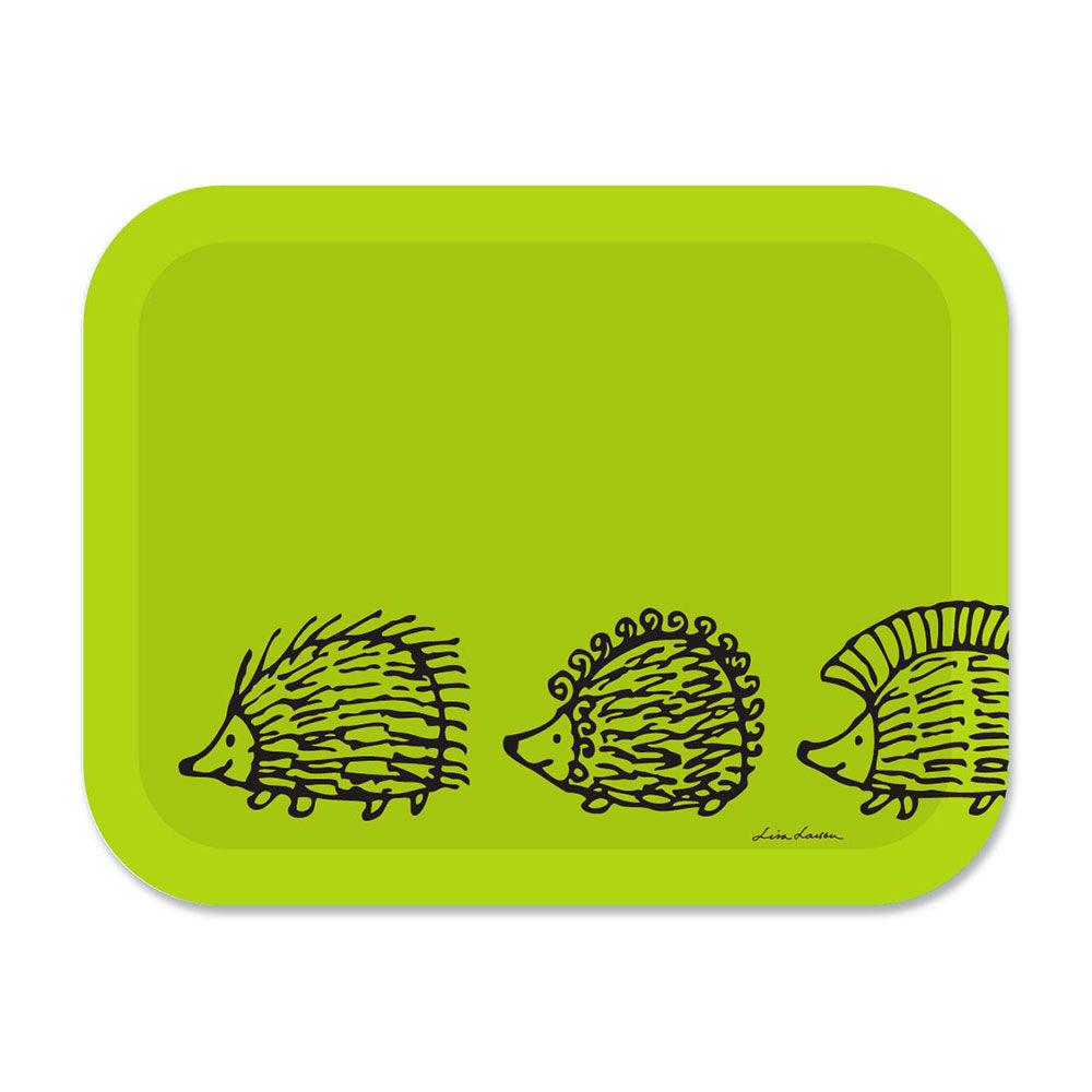 Opto Design Iggy Piggy Punky Tarjotin 36x28 cm, Vihreä