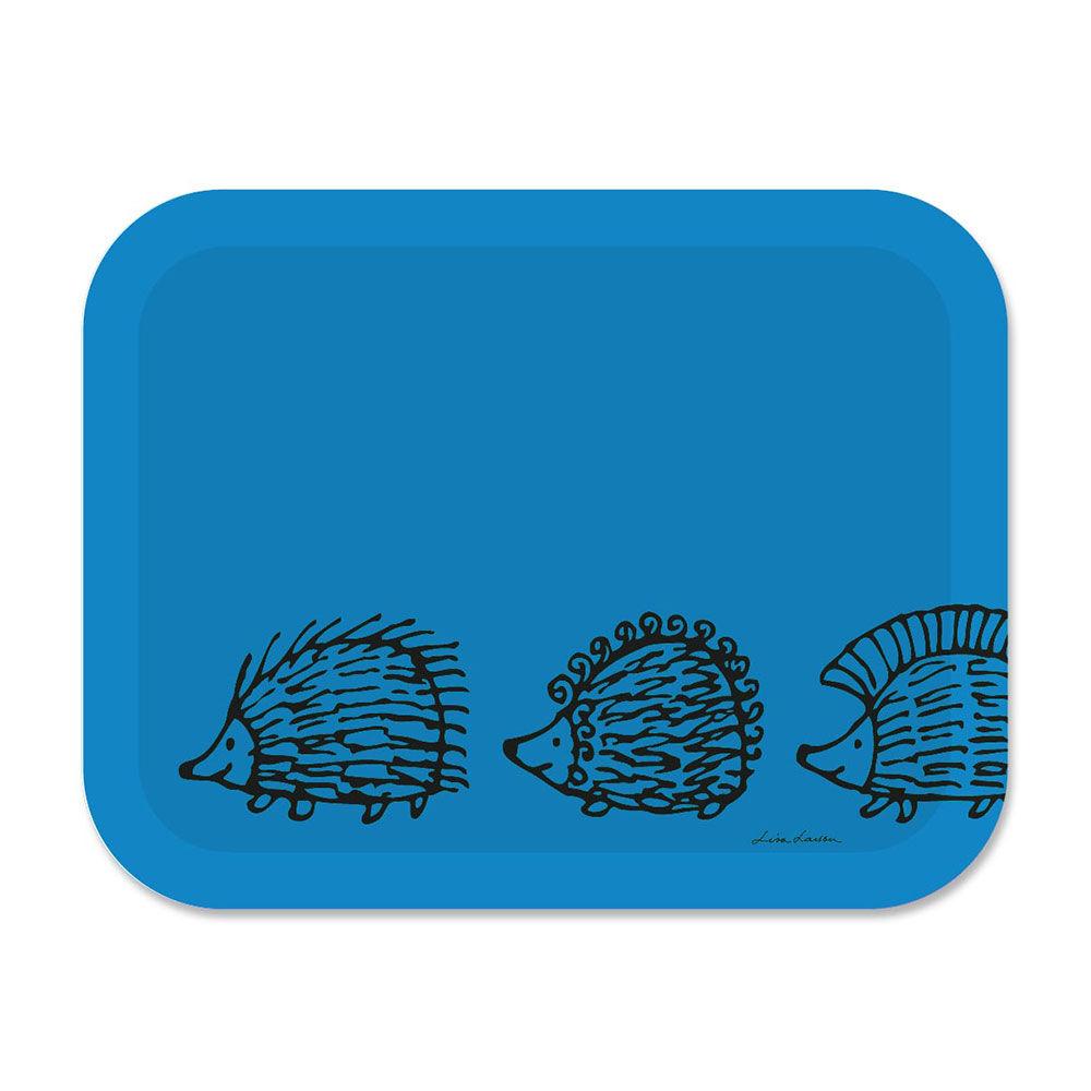 Opto Design Iggy Piggy Punky Tarjotin 36x28 cm, Sininen