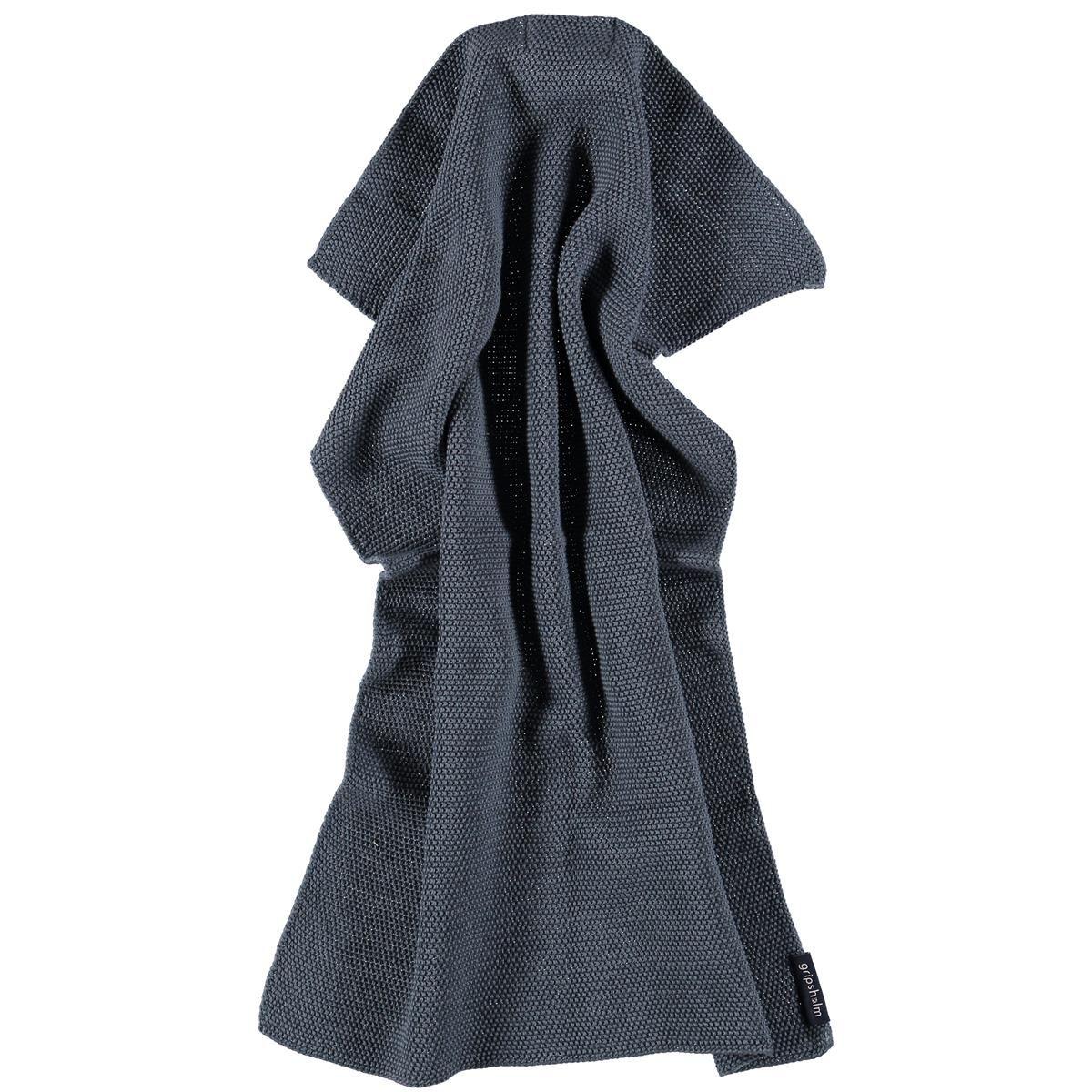 Gripsholm Knitted Keittiöpyyhe, 40x60cm, Ombre Sininen
