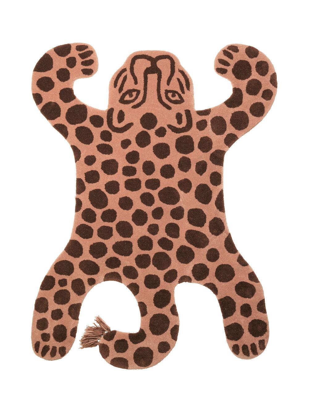 Ferm Living KIDS Safari Tufted Rug, Leopard