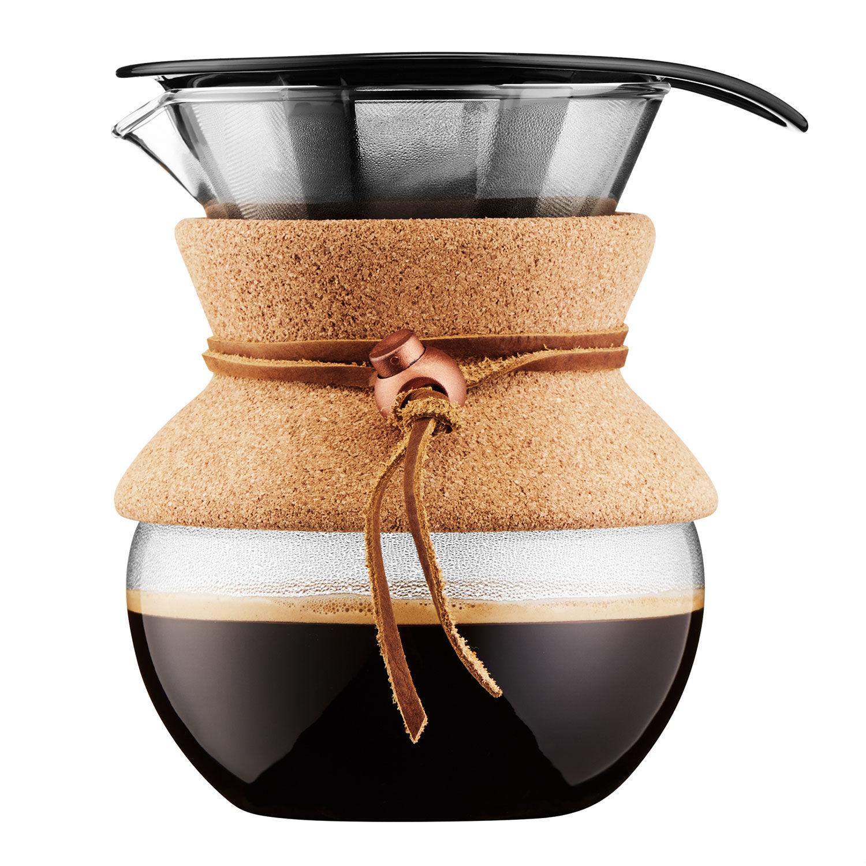 Bodum POUR OVER Kahvinkeitin 0,5 L, Korkki