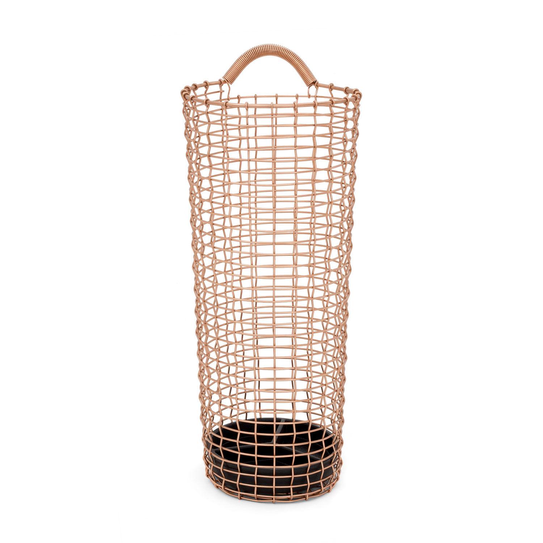 Korbo Umbrella Bin, Copper