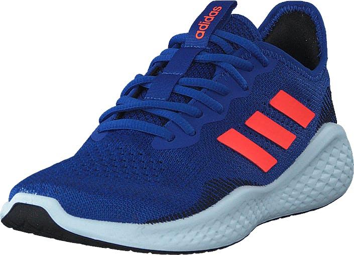 Adidas Sport Performance Fluidflow Team Royal Blue/solar Red/tech, Kengät, Tennarit ja Urheilukengät, Urheilukengät, Sininen, Unisex, 40