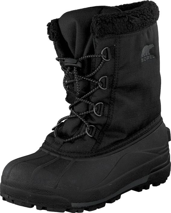 Sorel Youth Cumberland 010 Black, Kengät, Bootsit, Lämminvuoriset kengät, Musta, Unisex, 38