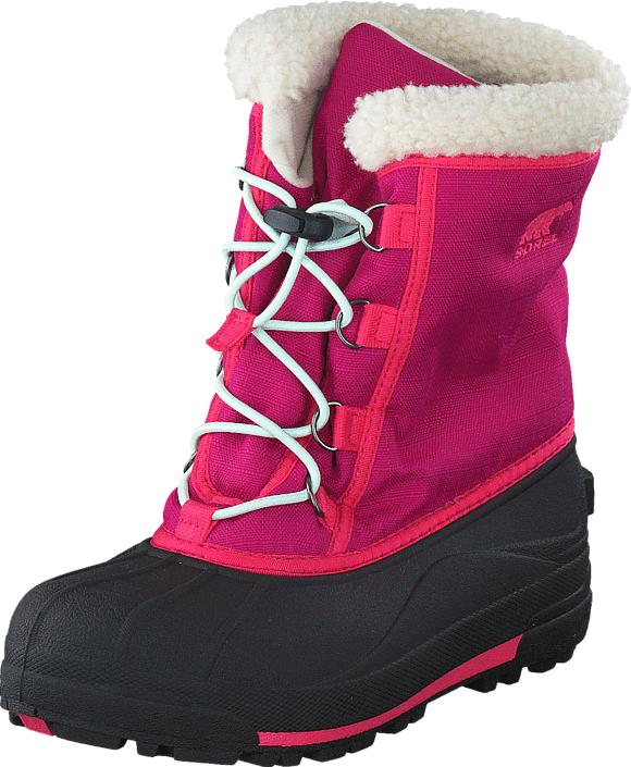 Sorel Youth Cumberland 684 Deep Blush, Kengät, Bootsit, Lämminvuoriset kengät, Violetti, Vaaleanpunainen, Unisex, 34