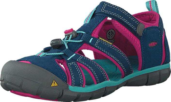 Keen Seacamp II Cnx-Jr Poseidon/Very Berry, Kengät, Sneakerit ja urheilukengät, Sneakerit, Turkoosi, Unisex, 37