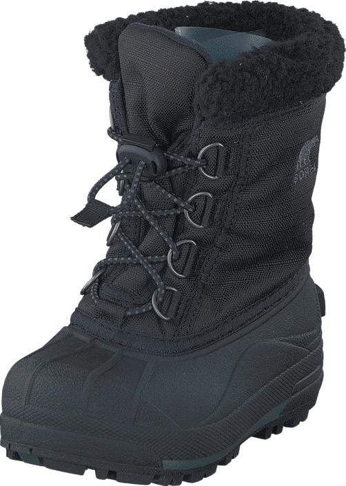 Sorel Youth Cumberland Children 010 Black, Kengät, Bootsit, Lämminvuoriset kengät, Musta, Unisex, 31