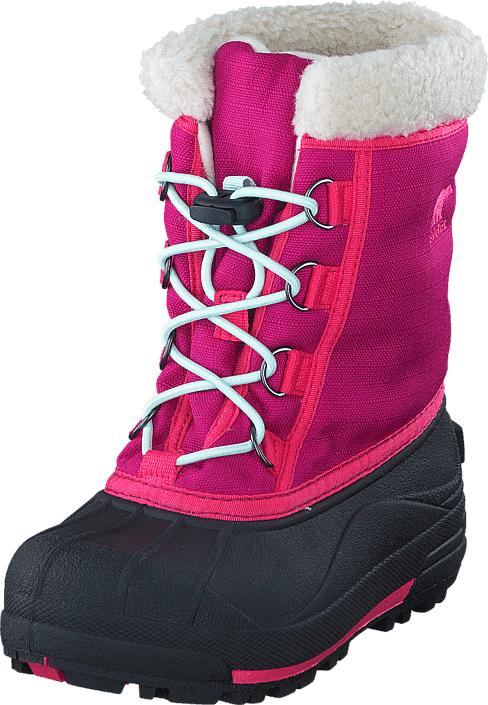 Sorel Youth Cumberland Children 684 Deep Blush, Kengät, Bootsit, Lämminvuoriset kengät, Vaaleanpunainen, Unisex, 28