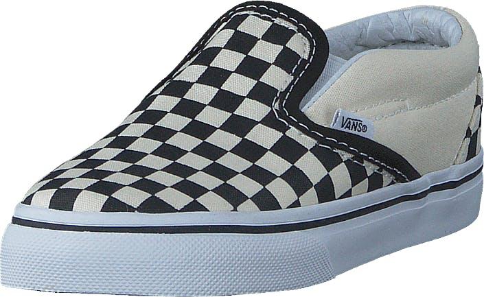 Vans T Classic Slip-On Black And White Checker/White, Kengät, Matalat kengät, Slip on, Sininen, Lapset, 24